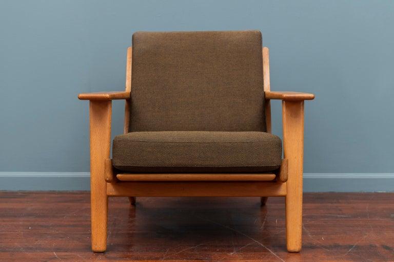 Danish Hans Wegner Lounge Chair GE 290 For Sale