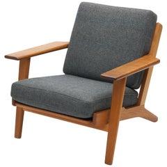 Hans Wegner Lounge Chair GE290 by GETAMA