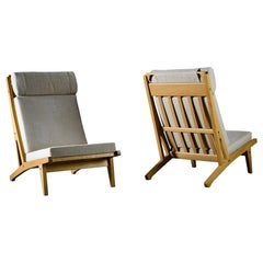 Hans Wegner Lounge Chairs GE 375