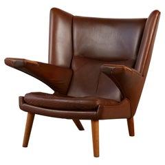 "Hans Wegner ""Mega/New Papa Bear"" Lounge Chair by AP Stolen"