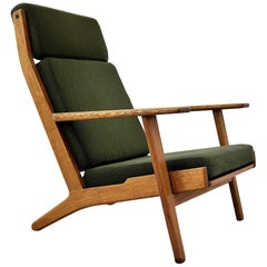 Hans Wegner Midcentury Lounge Chair