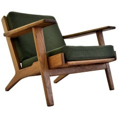 Hans Wegner Mid Century Oak Arm Chair