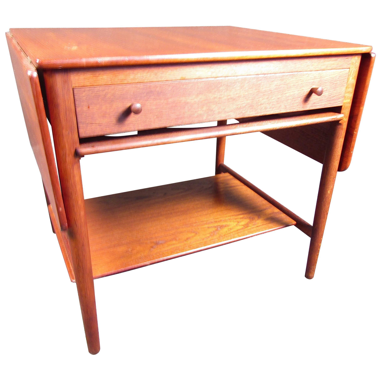 Hans Wegner Midcentury Rosewood Sewing Table