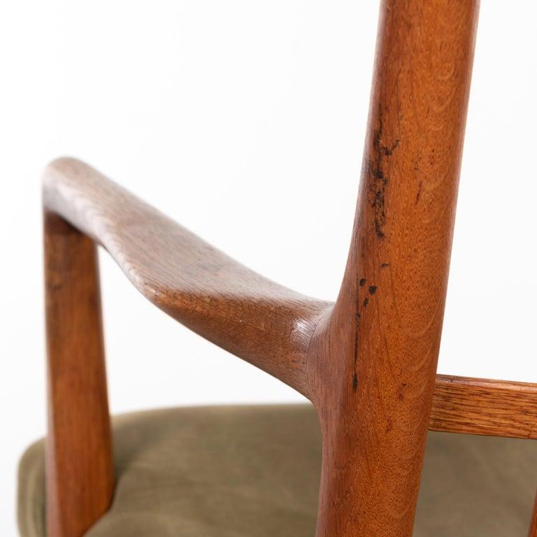Hans Wegner ML33 Rocking Chair in Teak for Mikael Laursen, Denmark For Sale 6