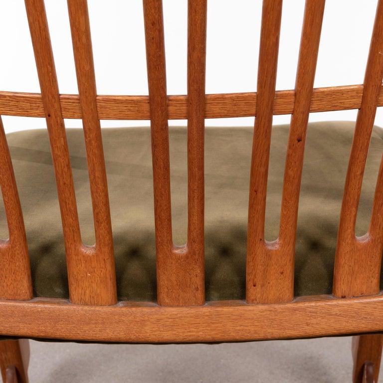 Hans Wegner ML33 Rocking Chair in Teak for Mikael Laursen, Denmark For Sale 7