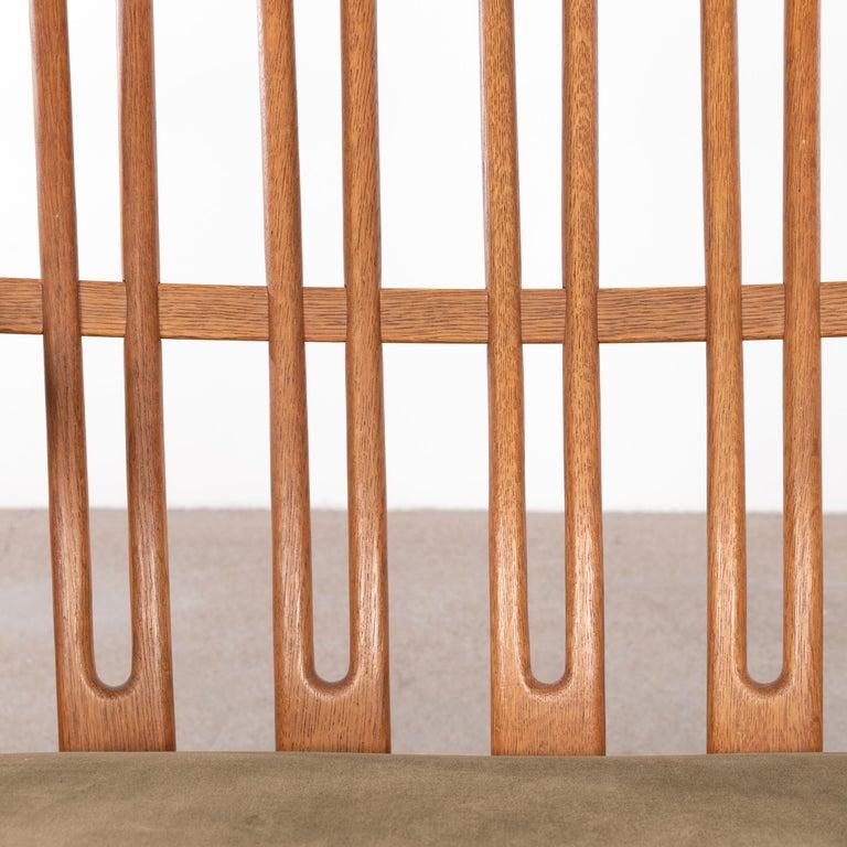 Hans Wegner ML33 Rocking Chair in Teak for Mikael Laursen, Denmark For Sale 10