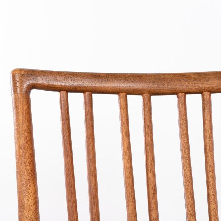 Hans Wegner ML33 Rocking Chair in Teak for Mikael Laursen, Denmark For Sale 12