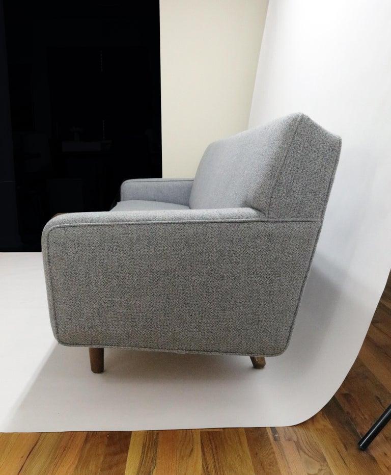 Scandinavian Modern Hans Wegner Model AP 33 Sofa for Anker Petersen Stolen For Sale