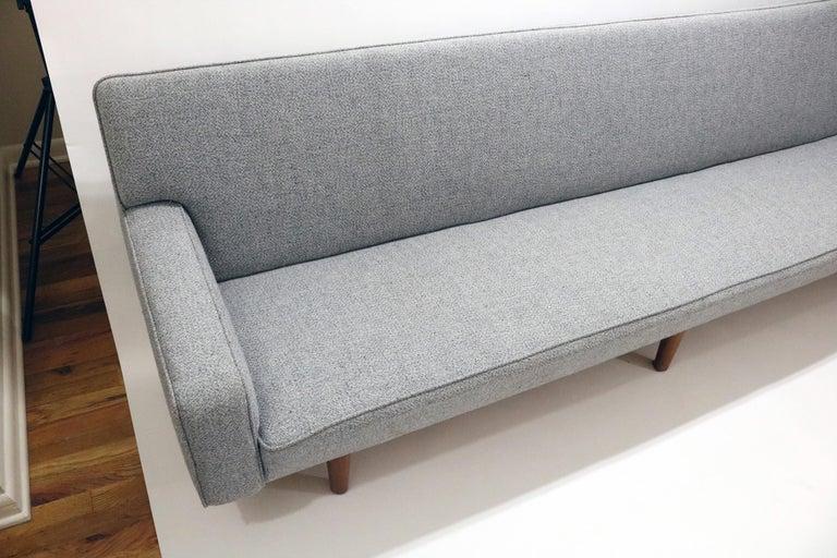 Danish Hans Wegner Model AP 33 Sofa for Anker Petersen Stolen For Sale