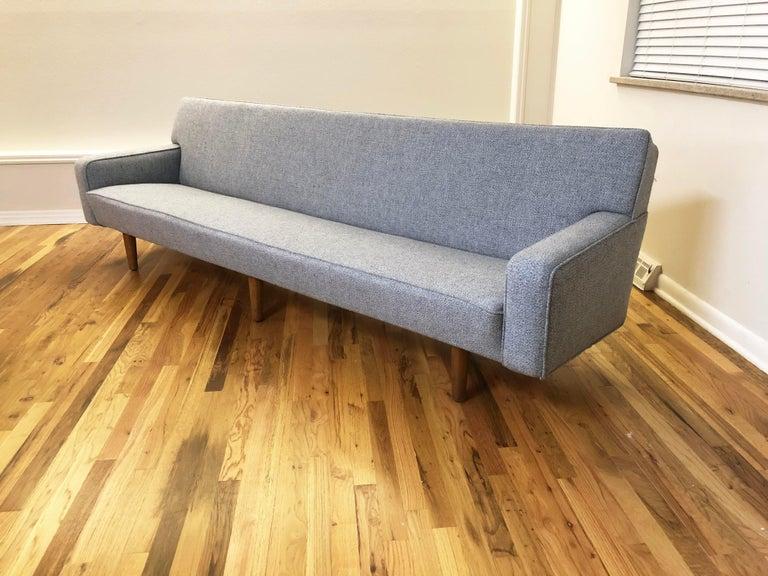 20th Century Hans Wegner Model AP 33 Sofa for Anker Petersen Stolen For Sale