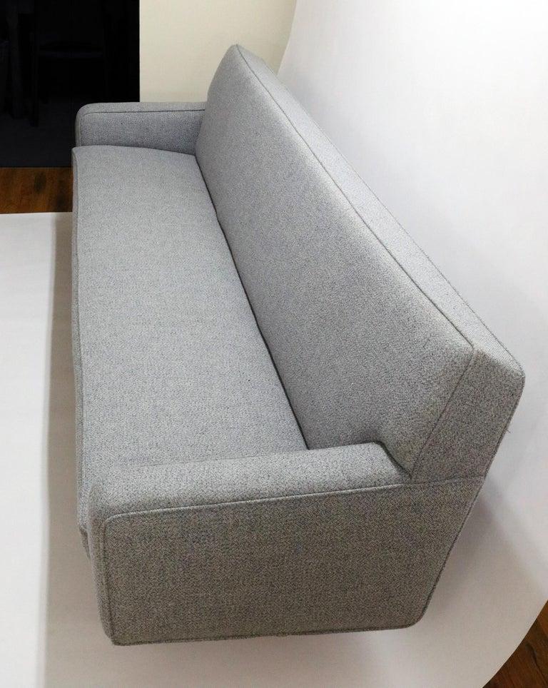 Wool Hans Wegner Model AP 33 Sofa for Anker Petersen Stolen For Sale