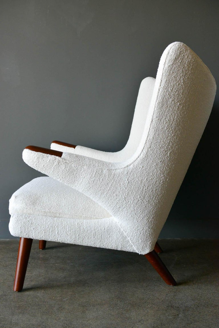 Danish Hans Wegner Model AP-19 'Papa Bear' Chair, circa 1955 For Sale