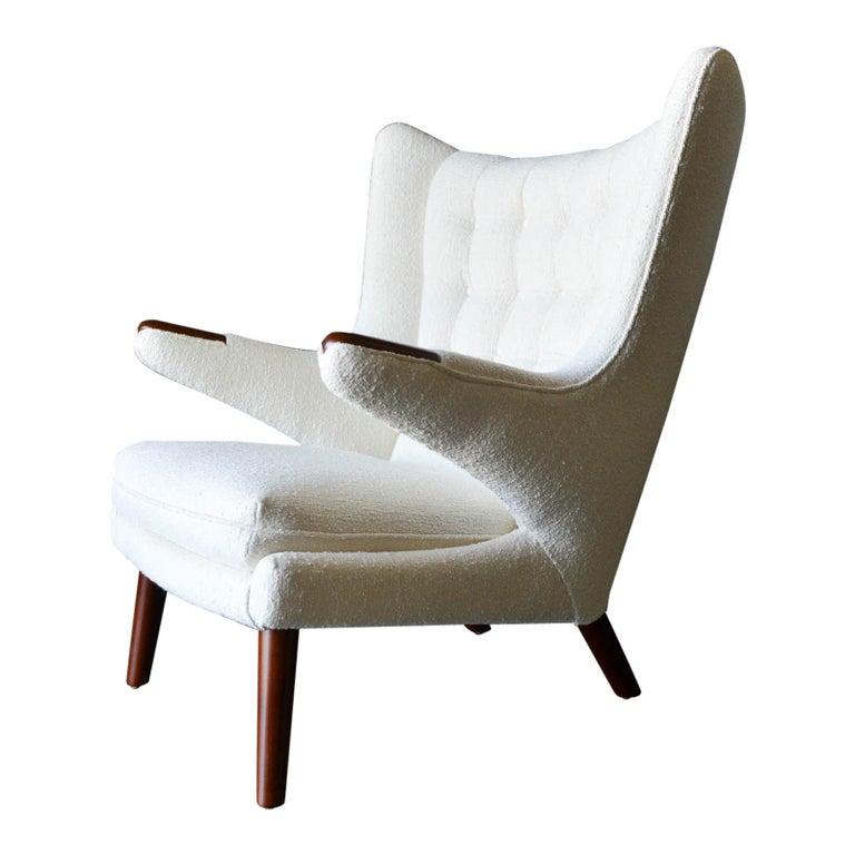 Hans Wegner Model AP-19 'Papa Bear' Chair, circa 1955 For Sale
