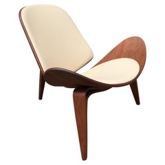 "Hans Wegner Molded Shell Chair Model CH07 ""Smiling Chair"""