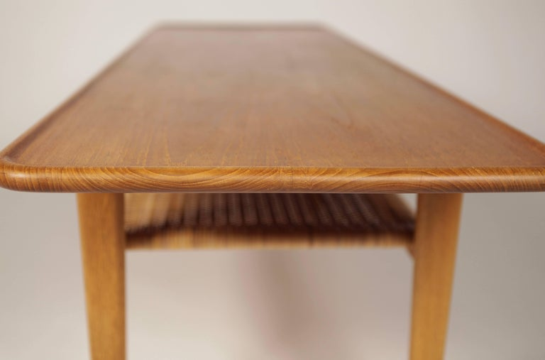 Hans Wegner Occasional Table AT-10 by Andreas Tuck, 1950s For Sale 4