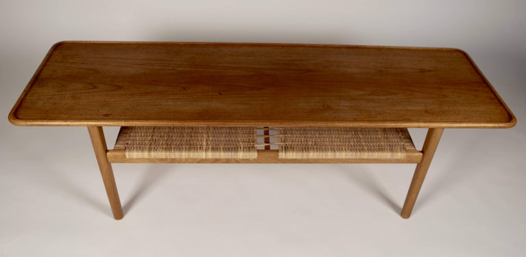 Hans Wegner Occasional Table AT-10 by Andreas Tuck, 1950s For Sale 1