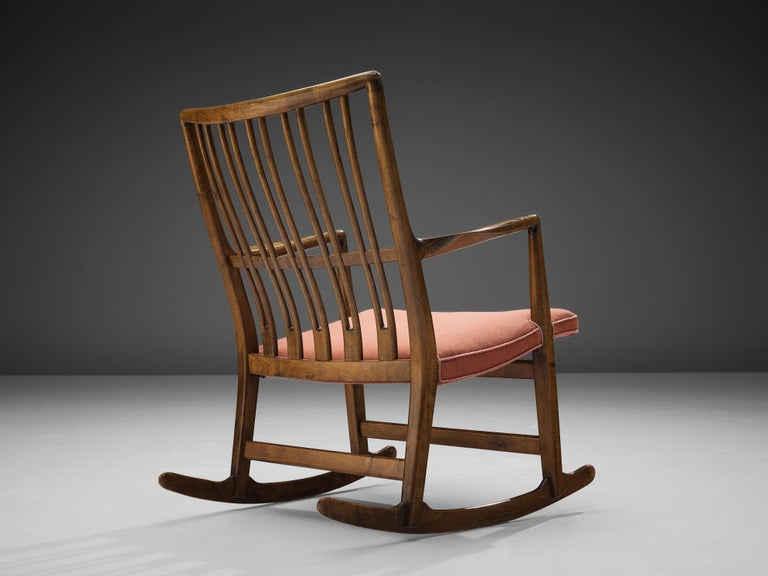 Hans Wegner Pair of Early 'ML-33' Rocking Chairs For Sale 2