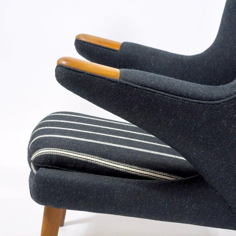 Danish Hans Wegner Papa Bear Chair, First Edition For Sale