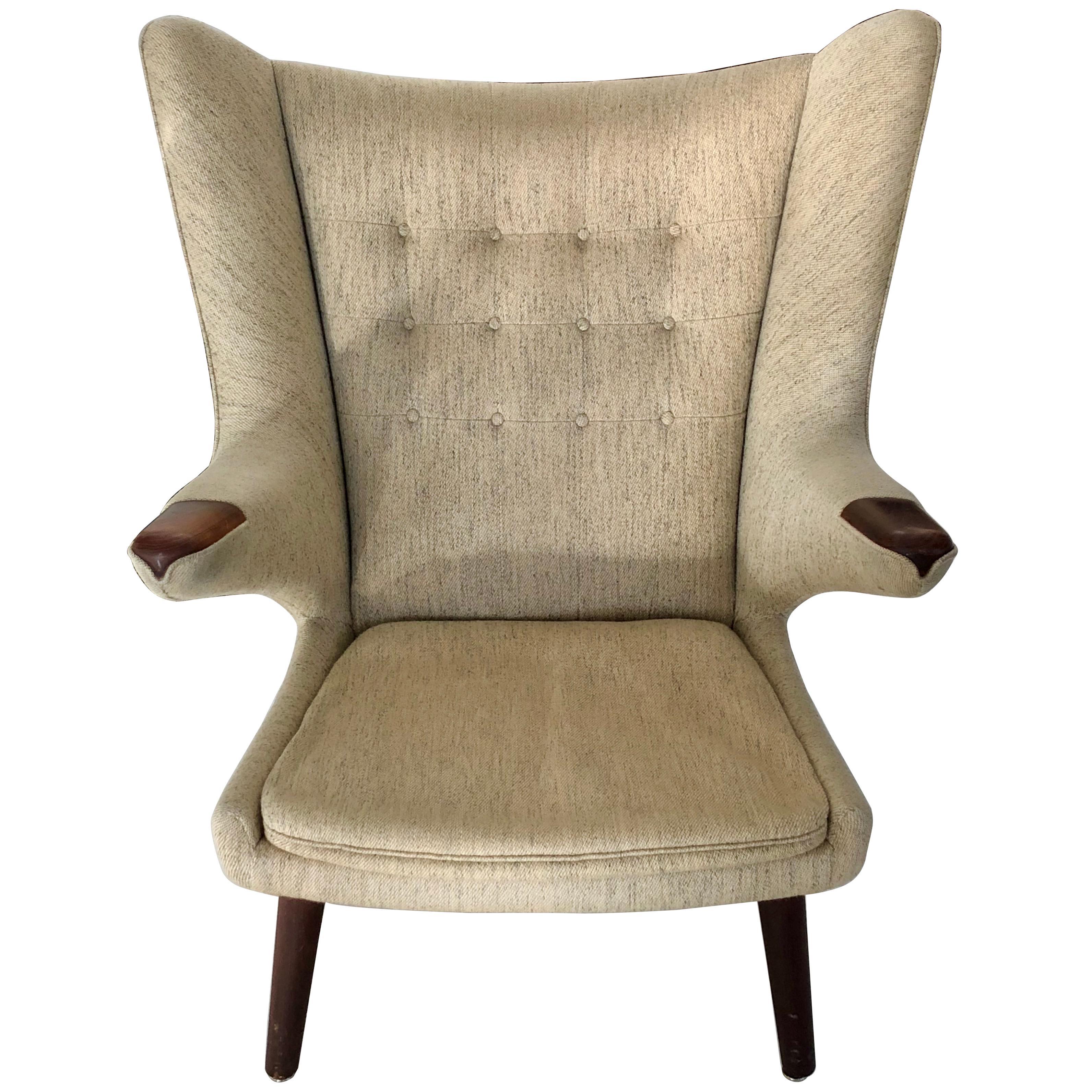 Awesome Hans Wegner Papa Bear Chair Ibusinesslaw Wood Chair Design Ideas Ibusinesslaworg