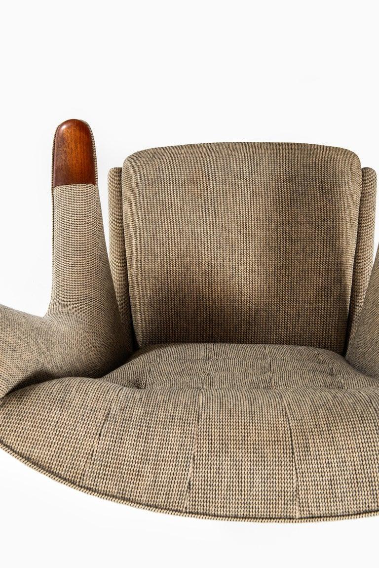 Hans Wegner Papa Bear Easy Chair Produced by A.P. Stolen in Denmark 4