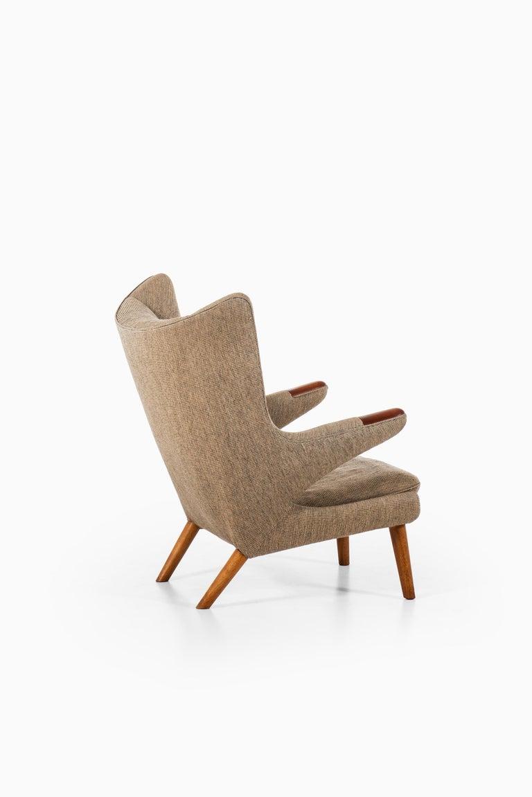 Hans Wegner Papa Bear Easy Chair Produced by A.P. Stolen in Denmark 1