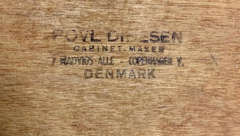 Hans Wegner Papa Bear Lounge Chair and Ottoman Povl Dinesen, Denmark For Sale 12