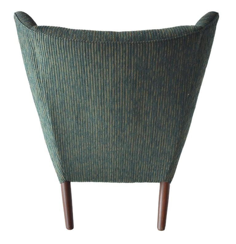 Danish Hans Wegner Papa Bear Lounge Chair For Sale