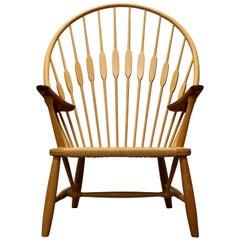 Hans Wegner Peacock Chair, Made by Johannes Hansen, 1950s, Denmark