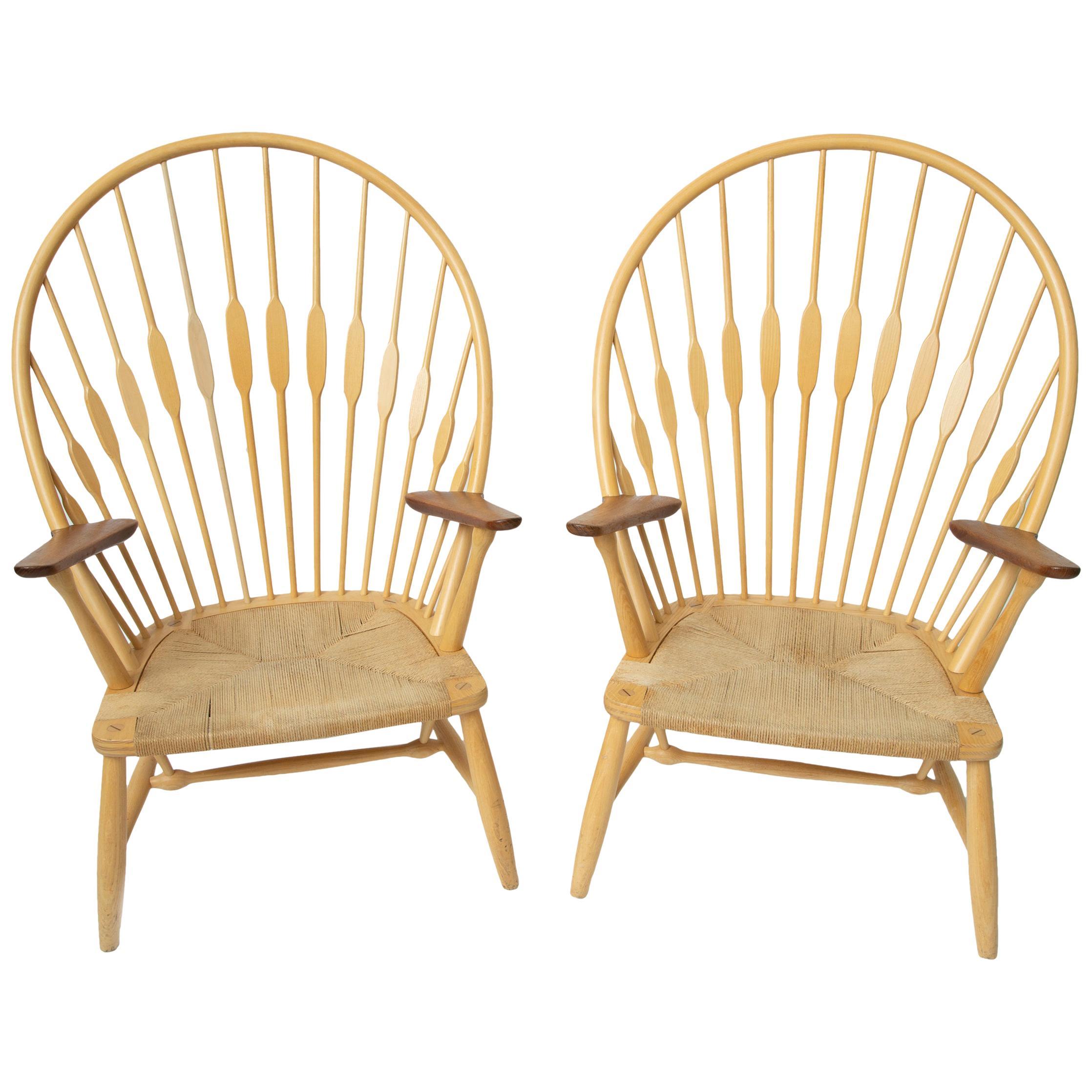Hans Wegner Peacock Chairs