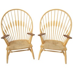 Hans Wegner Peacock Chairs