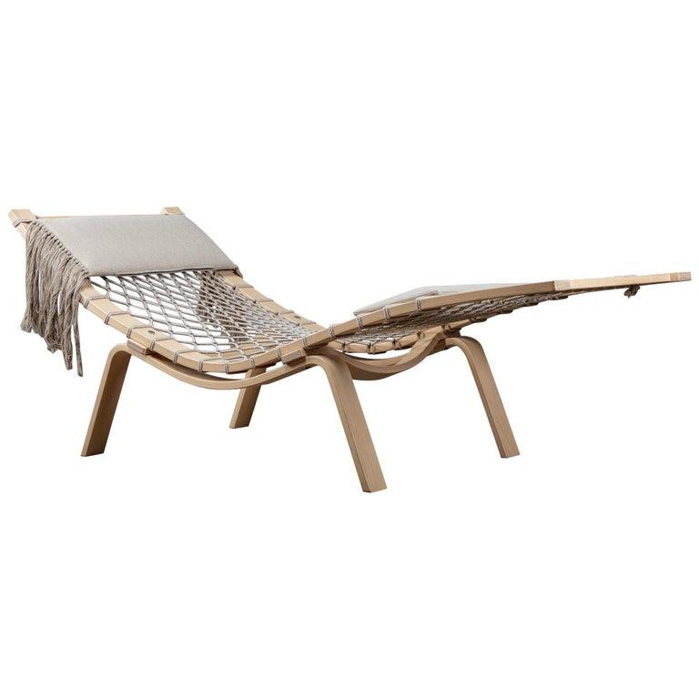 Hans Wegner (1914-2007) PP135 Model Hammock lounge chair manufactured by PP Mobler, Denmark, designed 1967.