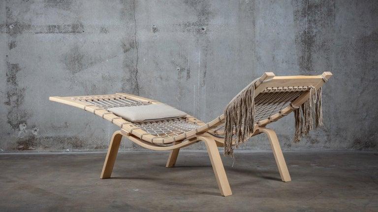Mid-Century Modern Hans Wegner PP135 Model Hammock Lounge Chair