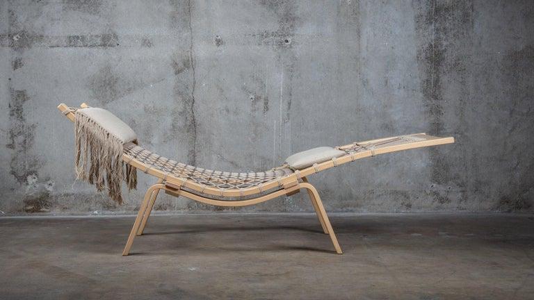 Danish Hans Wegner PP135 Model Hammock Lounge Chair