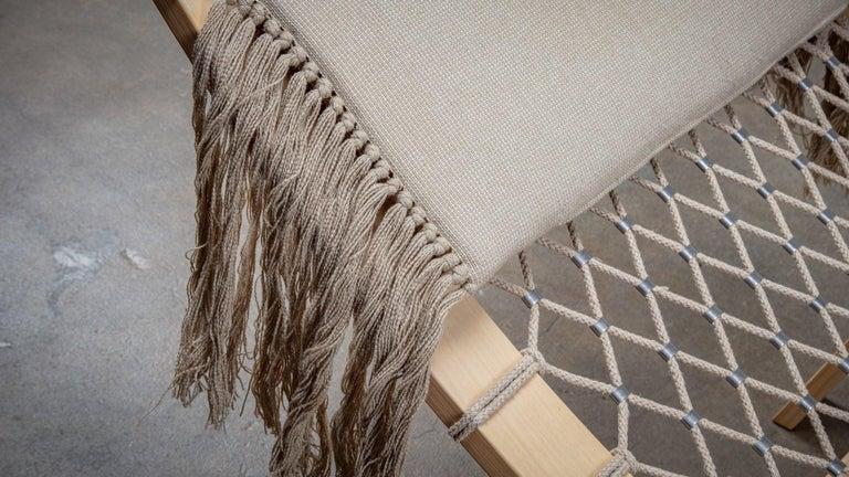 Mid-20th Century Hans Wegner PP135 Model Hammock Lounge Chair