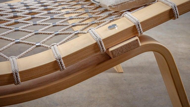 Hans Wegner PP135 Model Hammock Lounge Chair 1