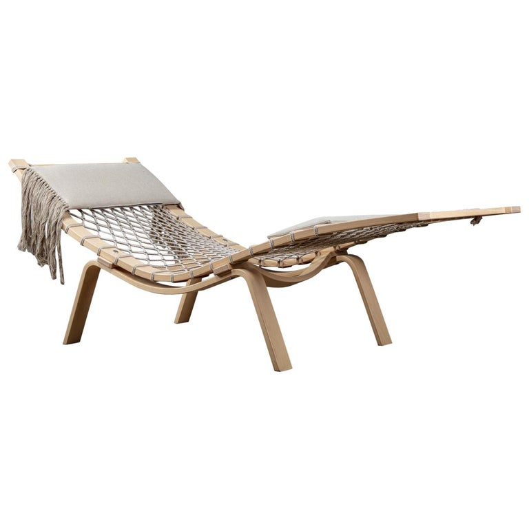 Hans Wegner PP135 Model Hammock Lounge Chair