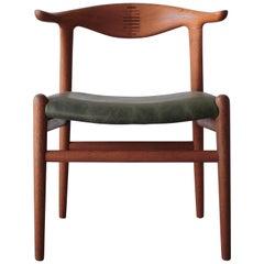 Hans Wegner PP505 Cow Horn Chair