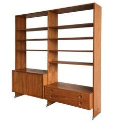 Hans Wegner RY100 Teak Bookcase Shelving System