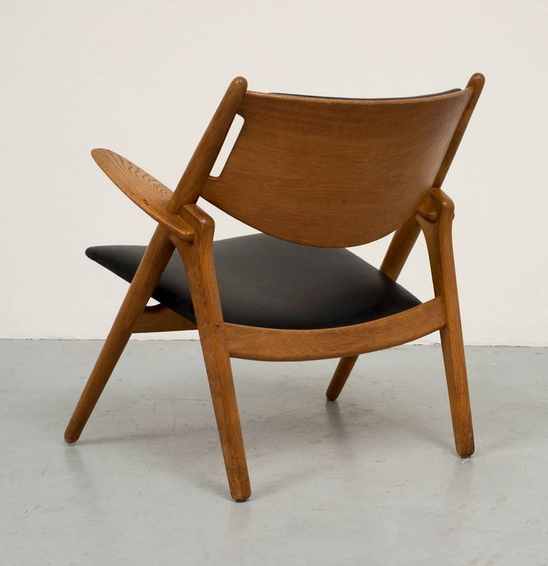 Danish Hans Wegner Sawbuck Chair For Sale
