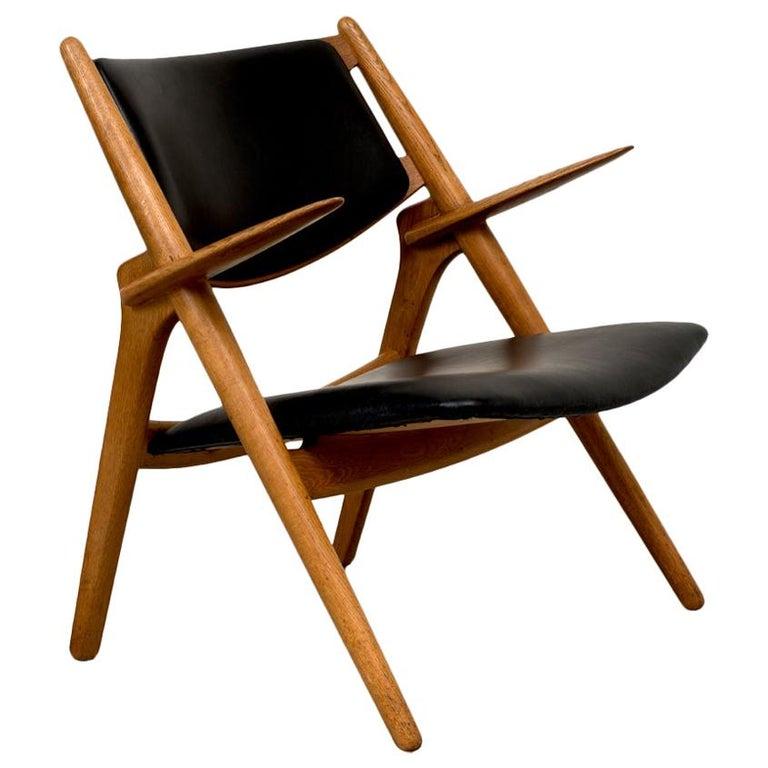 Hans Wegner Sawbuck Chair For Sale