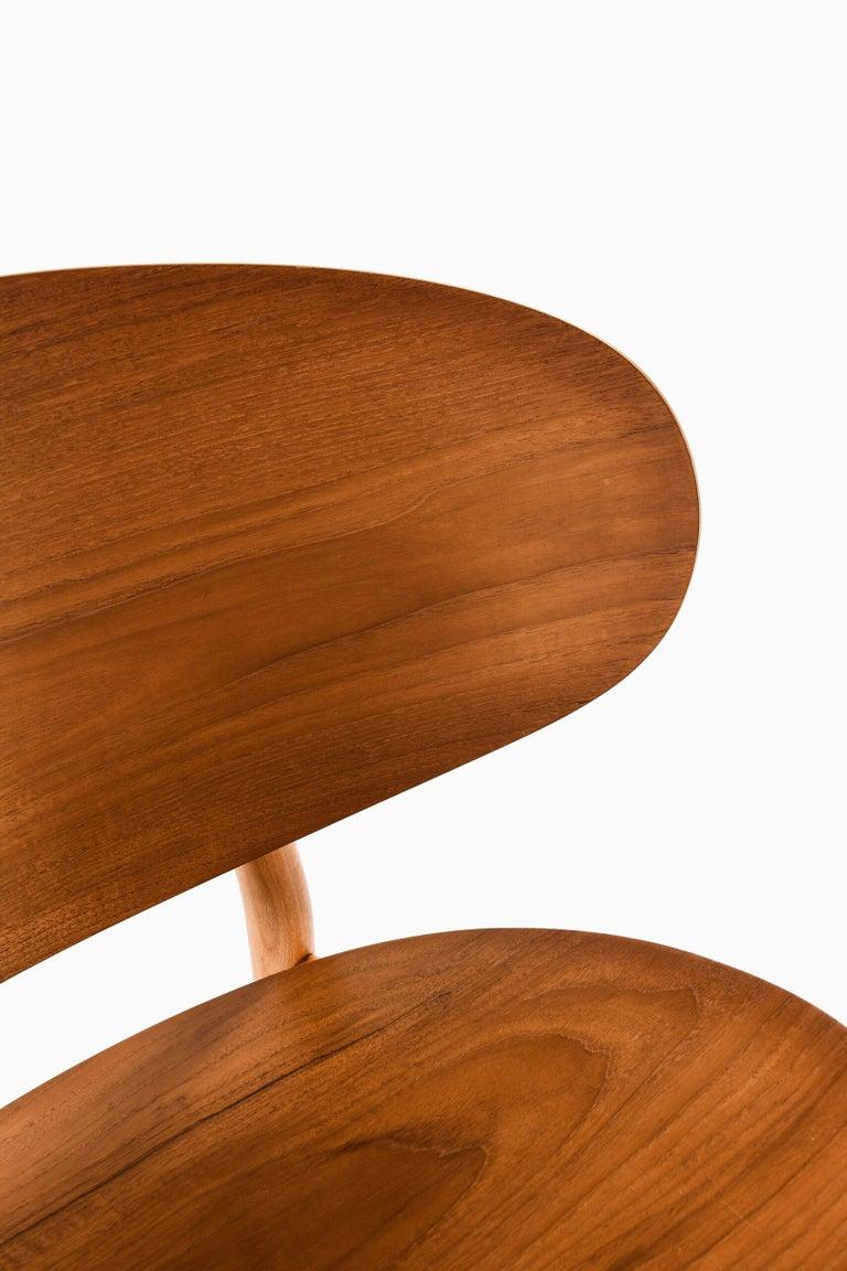 Danish Hans Wegner Shell Easy Chair Model 1936 Produced by Fritz Hansen in Denmark For Sale