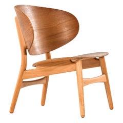 Hans Wegner Shell Easy Chair Model 1936 Produced by Fritz Hansen in Denmark