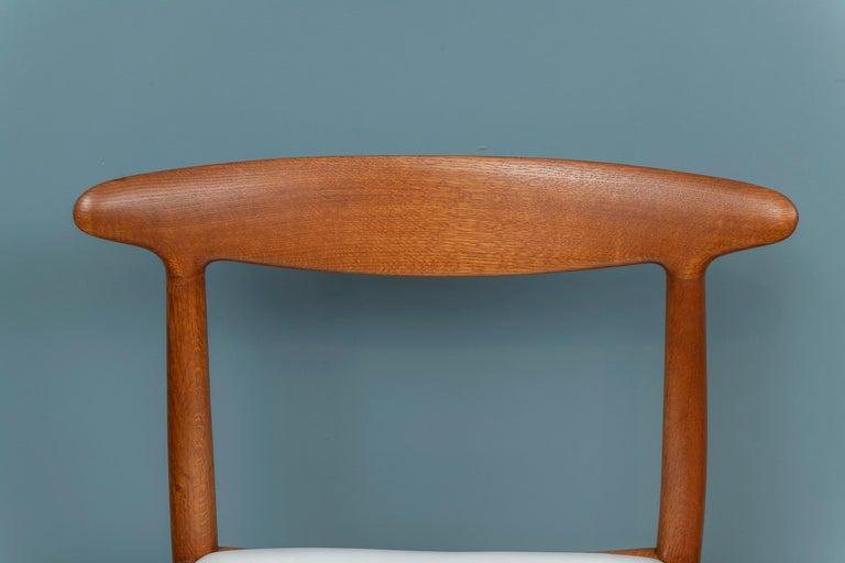 Danish Hans Wegner Side Chair for Johannes Hansen For Sale