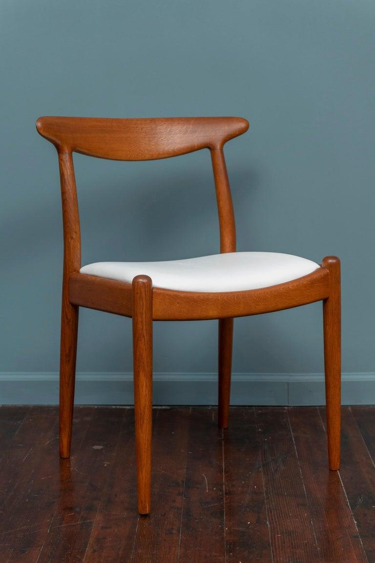 Hans Wegner Side Chair for Johannes Hansen In Good Condition For Sale In San Francisco, CA