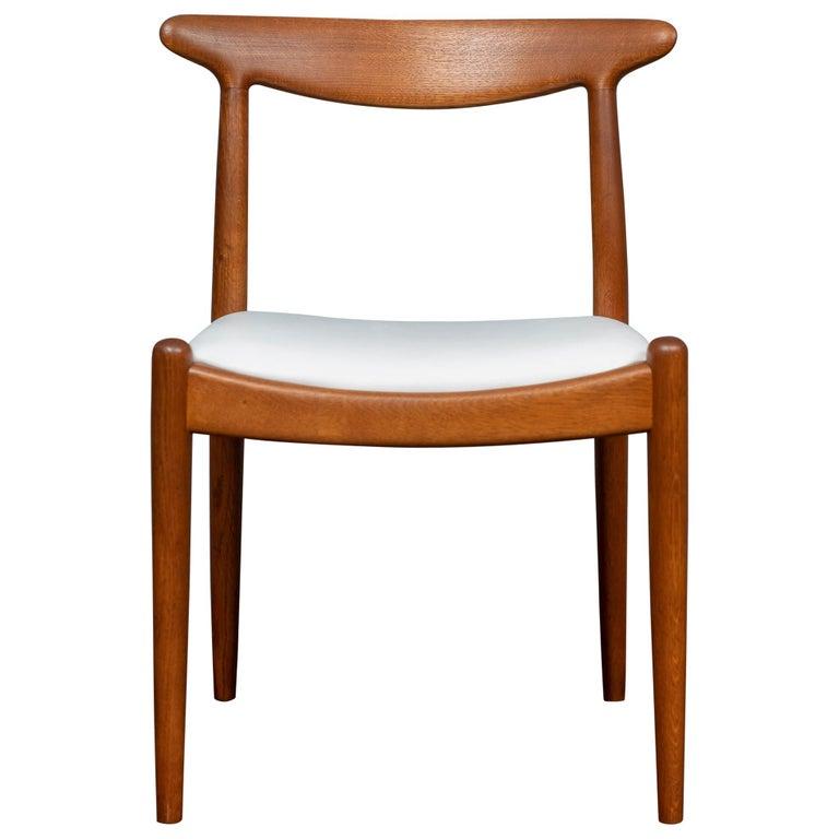 Hans Wegner Side Chair for Johannes Hansen For Sale