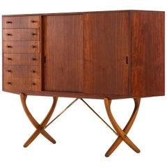 Hans Wegner Sideboard Model CH-304 by Carl Hansen & Son in Denmark