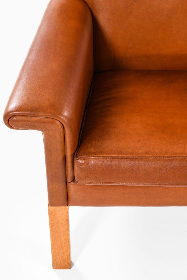 Danish Hans Wegner Sofa Model AP-64 Produced by AP-Stolen in Denmark For Sale