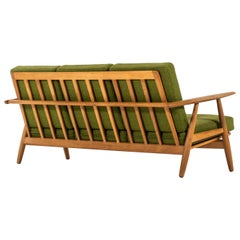 Hans Wegner Sofa Model GE-240 / Cigar Produced by GETAMA in Denmark