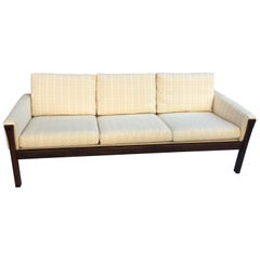 Hans Wegner Solid Rosewood Sofa Model AP62 for AP Stolen
