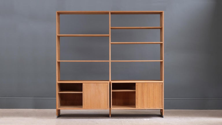 Scandinavian Modern Hans Wegner Storage System For Sale